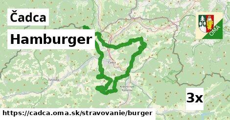 hamburger v Čadca