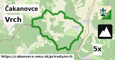 vrch v Čakanovce
