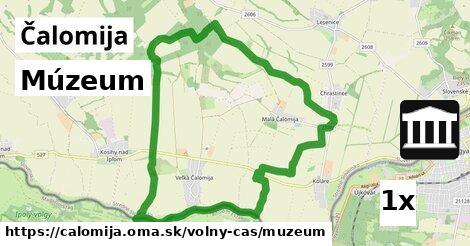 múzeum v Čalomija