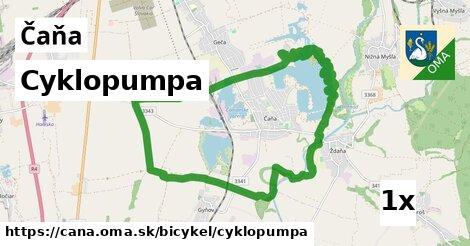 ilustračný obrázok k Cyklopumpa, Čaňa