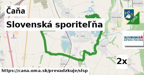 ilustračný obrázok k Slovenská sporiteľňa, Čaňa
