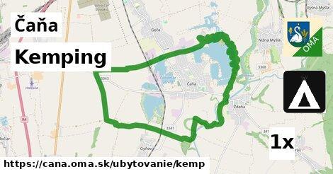 ilustračný obrázok k Kemping, Čaňa