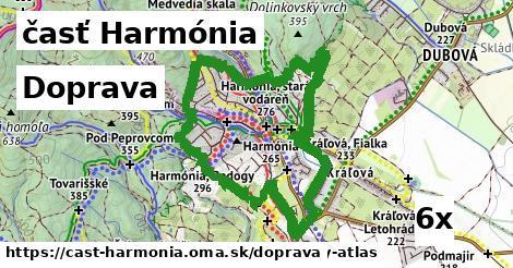doprava v časť Harmónia