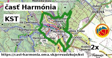 KST v časť Harmónia