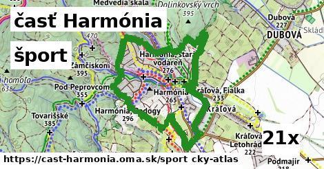 šport v časť Harmónia