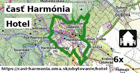 hotel v časť Harmónia