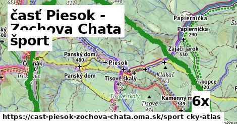 šport v časť Piesok - Zochova Chata
