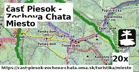 miesto v časť Piesok - Zochova Chata