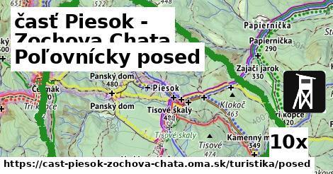 poľovnícky posed v časť Piesok - Zochova Chata