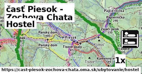 hostel v časť Piesok - Zochova Chata