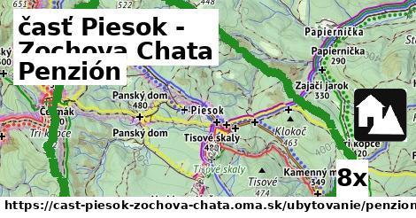 penzión v časť Piesok - Zochova Chata