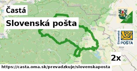 Slovenská pošta v Častá