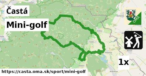 mini-golf v Častá