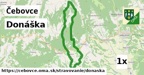 ilustračný obrázok k Donáška, Čebovce