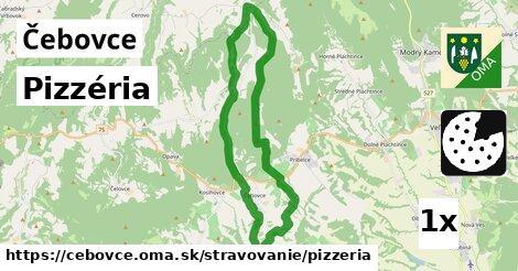 ilustračný obrázok k Pizzéria, Čebovce