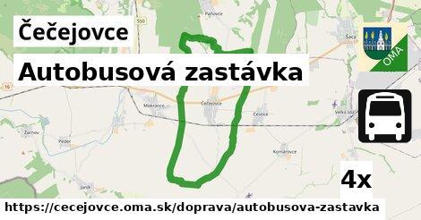 ilustračný obrázok k Autobusová zastávka, Čečejovce