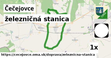 ilustračný obrázok k železničná stanica, Čečejovce