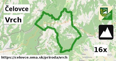 vrch v Čelovce