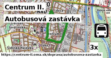ilustračný obrázok k Autobusová zastávka, Centrum II.