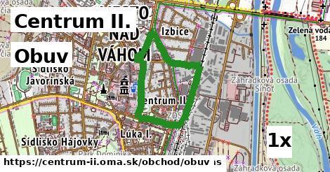 ilustračný obrázok k Obuv, Centrum II.