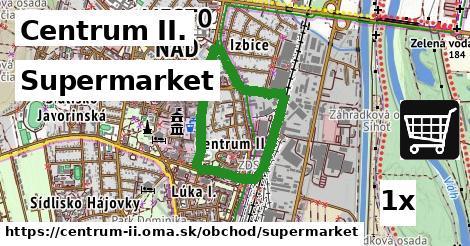 ilustračný obrázok k Supermarket, Centrum II.