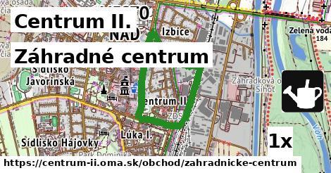ilustračný obrázok k Záhradné centrum, Centrum II.