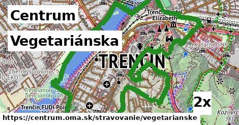 vegetariánska v Centrum