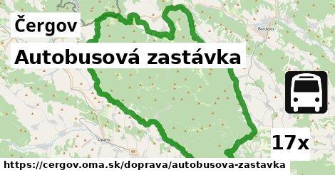 ilustračný obrázok k Autobusová zastávka, Čergov