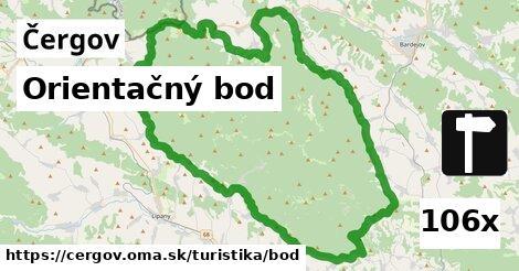 ilustračný obrázok k Orientačný bod, Čergov