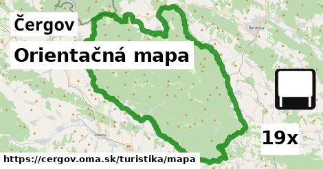 ilustračný obrázok k Orientačná mapa, Čergov