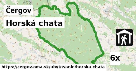 ilustračný obrázok k Horská chata, Čergov