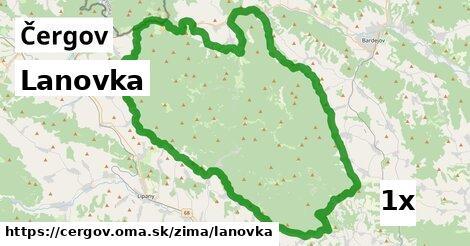 ilustračný obrázok k Lanovka, Čergov