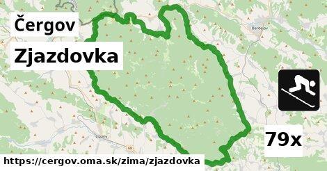 ilustračný obrázok k Zjazdovka, Čergov