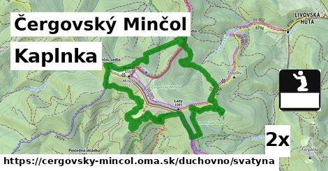 ilustračný obrázok k Kaplnka, Čergovský Minčol