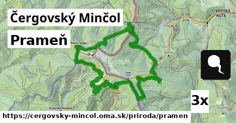 ilustračný obrázok k Prameň, Čergovský Minčol