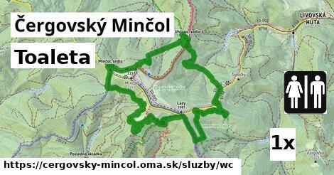 ilustračný obrázok k Toaleta, Čergovský Minčol