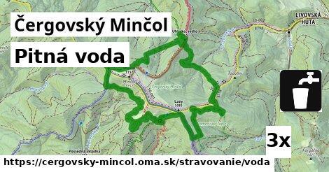 ilustračný obrázok k Pitná voda, Čergovský Minčol