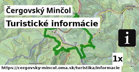 ilustračný obrázok k Turistické informácie, Čergovský Minčol
