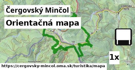 ilustračný obrázok k Orientačná mapa, Čergovský Minčol
