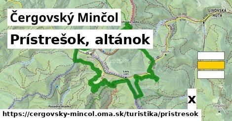ilustračný obrázok k Prístrešok, altánok, Čergovský Minčol
