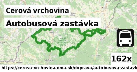ilustračný obrázok k Autobusová zastávka, Cerová vrchovina