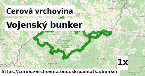 ilustračný obrázok k Vojenský bunker, Cerová vrchovina