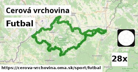 ilustračný obrázok k Futbal, Cerová vrchovina