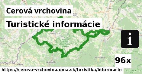ilustračný obrázok k Turistické informácie, Cerová vrchovina