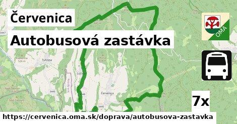 ilustračný obrázok k Autobusová zastávka, Červenica