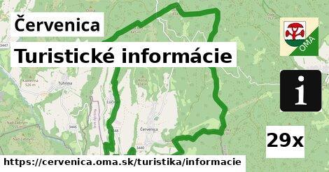 ilustračný obrázok k Turistické informácie, Červenica