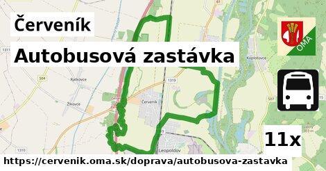 ilustračný obrázok k Autobusová zastávka, Červeník