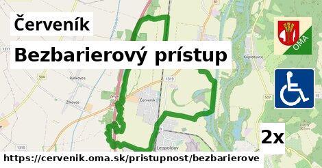 ilustračný obrázok k Bezbarierový prístup, Červeník