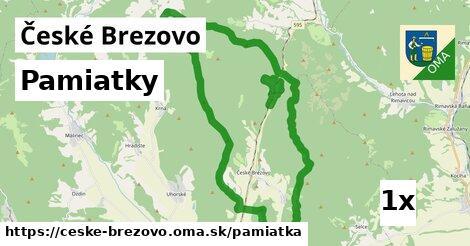 pamiatky v České Brezovo