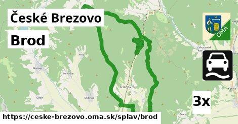 brod v České Brezovo